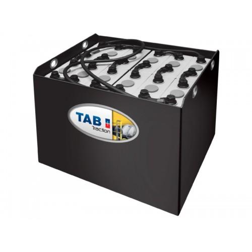 Аккумуляторная батарея 40/7 EPzS 630L ТАВ, жесткие перемычки для электропогрузчика Balkancar ЕВ 735.33