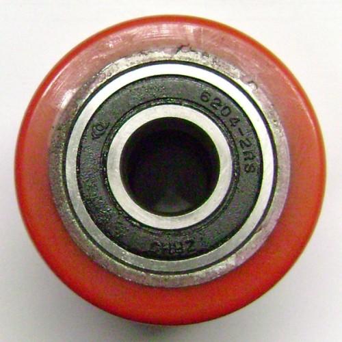 72P-DB Ролик ∅70x60 в сборе, полиуретан