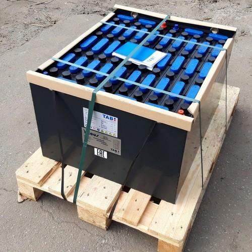 Аккумуляторная батарея 24/4 ЕPzS 620L ТАВ, жесткие перемычки для электропогрузчика Heli CPD20