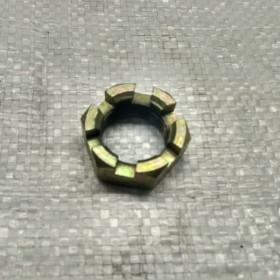 Гайка корончата (Рекорд-2 Рекорд-1 ЕВ-687 ЕВ-717 ЕВ-735) 4901 00.00.10, 1182170