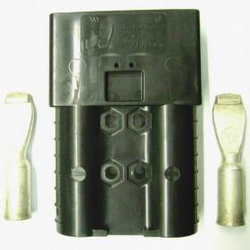 Конектор батареї (SBE320 Anderson чорний 80V)  -АНАЛОГ!