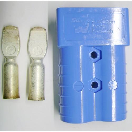 Коннектор батареи  (SB350 Anderson синий 48V)
