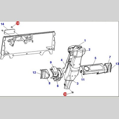 Болт (Погрузчики Doosan G10S/G15S/G18S (LP )D45S-5(TIER-2)) A431084