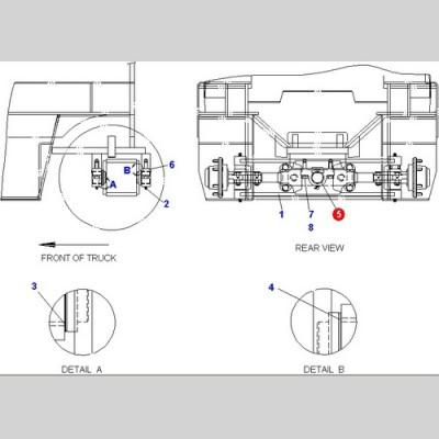 Втулка (Погрузчики DOOSAN B18S D15S-5 D18S-5 G15S-2 G18S-2 B20X-5) D600092