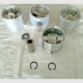 Поршень, палец, стопорные кольца (к-т 4 поршня) (Xinchai A490BPG) A490B-04001+490B-04004+2x490B-04013