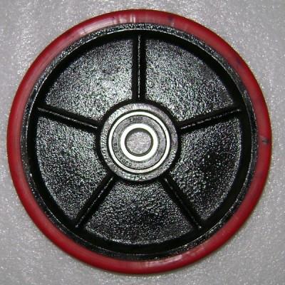 311+2х310-200P Колесо ∅200х50 полиуретан в сборе с подшипниками