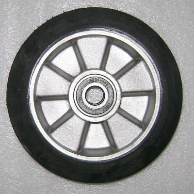311+2х310-200R Колесо ∅200х50 резина в сборе с подшипниками