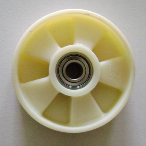 58N-DB Колесо рулевое ∅160x50 в сборе с подшиниками, ∅ вн. 20мм, нейлон