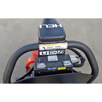 Тележка электрическая Li-ion CBD15J-Li Heli, 2 батареи в комплекте! 1 - на замену !